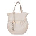 Bucket Bag from our Nefeles collection in Lambskin (Metallic Nappa )