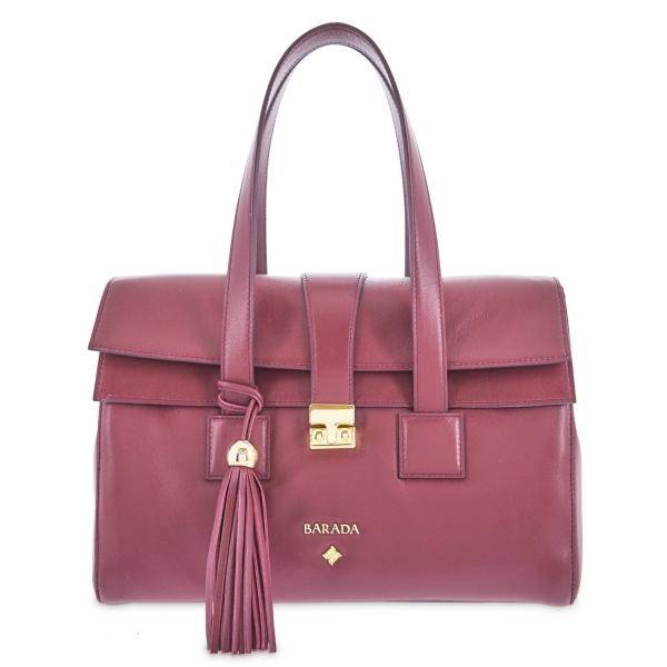 Clutch handbag from Breena collection in Calf