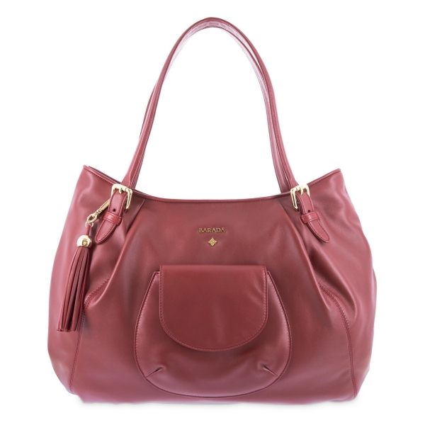 Hobbo bag from Damalis collection in Lamb skin