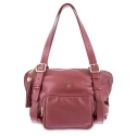 Camera bag from Damalis collection in Lamb skin