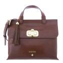 Satchel bag from Dasha collection in Calf