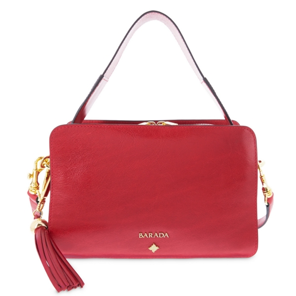 Shoulder bag from Dasha collection in Calf