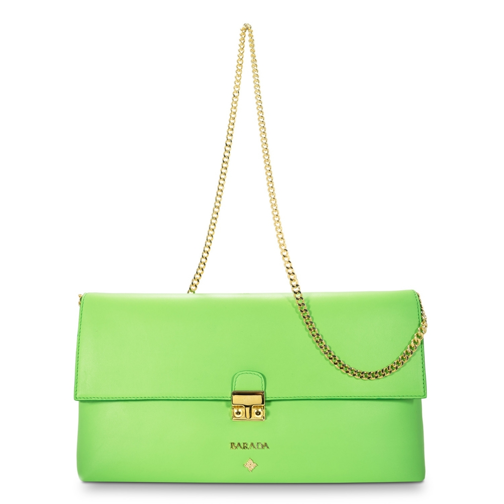 Crossbody Clutch Dama Blanca Collection in Nappa Leather