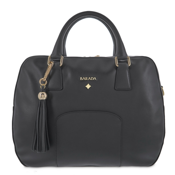 Clutch handbag from Morgana collection in Calf