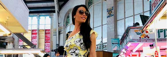 Pilar Rubio choose a Barada Bag